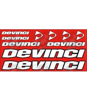 STICKER DECALS BIKE DEVINCI