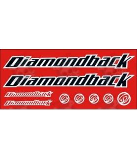 STICKER DECALS BIKE DIAMONDBACK