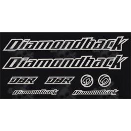 STICKER DECALS BIKE DIAMONDBACK DBR