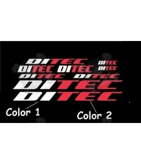 STICKER DECALS BIKE DITEC