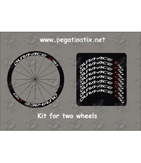 Stickers decals wheel rims DURA-ACE