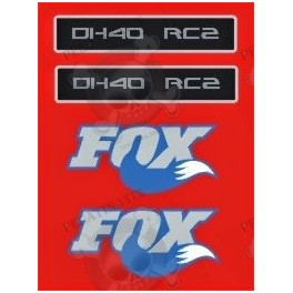 Sticker Decal Bike Fox 40 Rc2 Limited Edition