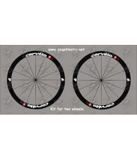 Stickers decals wheel rims CERVELO