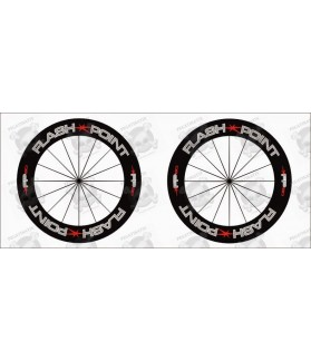 Stickers decals wheels rims FLASH POINT