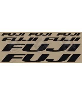 Stickers decals bike FUJI
