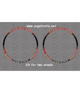 Stickers decals kit wheels rims FULCRUM REDMETAL ZERO