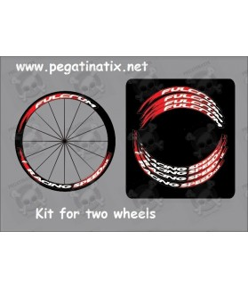Stickers decals kit wheels rims FULCRUM RACING SPEED XLR