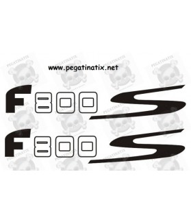 Stickers decals motorcycle BMW F800S