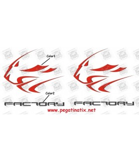 Stickers decals motorcycle APRILIA FACTORY