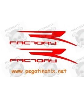 Stickers decals motorcycle APRILIA FACTORY LOGO