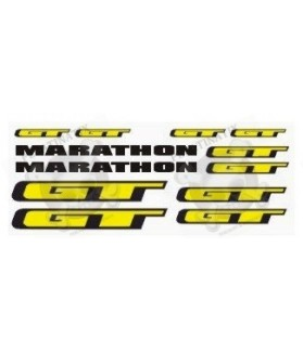 Sticker decal bike GT MARATHON