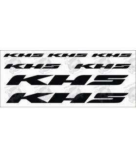Stickers decals bike KHS