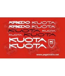 Sticker decal bike KUOTA