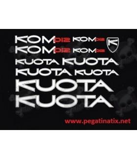 Sticker decal bike KUOTA DI2