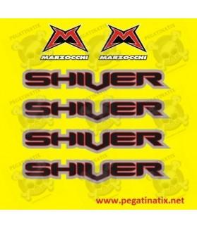 Stickers decals bike MARZOCCHI SHIVER