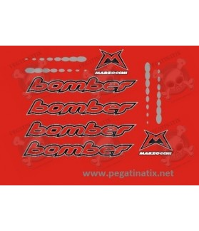 Stickers decals bike MARZOCCHI BOMBER