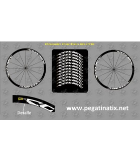 Sticker decal bike MAVIC COSMIC CARBON ELITE