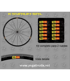 Sticker decal bike MAVIC COSMIC KSYRIUM SLR