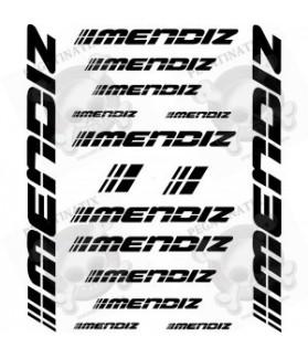 Stickers decals bike MENDIZ