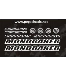 STICKER DECALS BIKE MONDRAKER PODIUM PRO