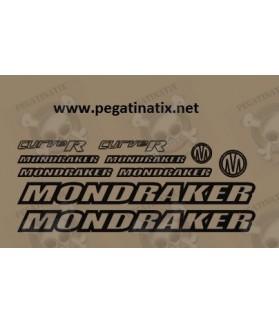 STICKER DECALS BIKE MONDRAKER CURVE R
