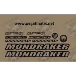 STICKER DECALS BIKE MONDRAKER FACTOR RR