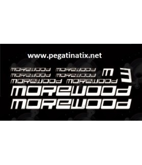 Sticker decal bike MOREWOOD