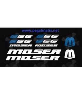 Sticker decal bike MOSER