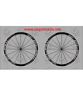 Stickers decals bike wheel rims MOST CLAW CARBON