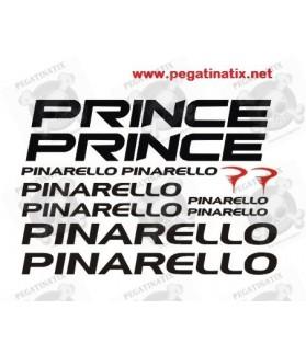 Stickers decals bike PINARELLO PRINCE
