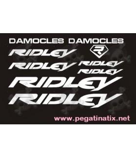 STICKER DECALS BIKE RIDLEY DAMOCLES