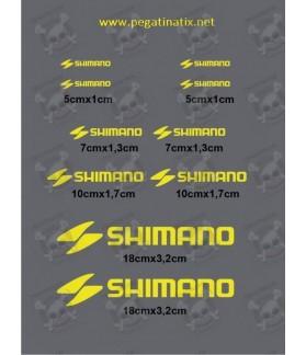Sticker decal bike SHIMANO
