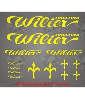 Stickers decals cycle WILIER TRIESTINA