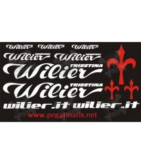 Stickers decals cycle WILIER UNIVERSAL