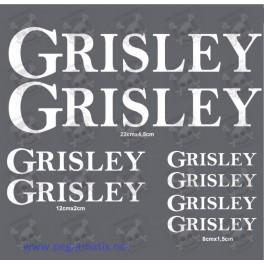 STICKER DECALS BIKE GRISLEY
