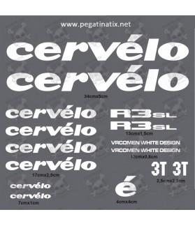 STICKER DECALS BIKE CERVELO R3 SL