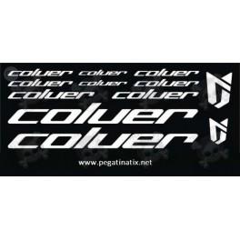 Sticker decal bike COLUER UNIVERSAL