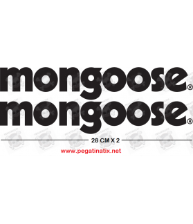 Stickers decals cycle MONGOOSE