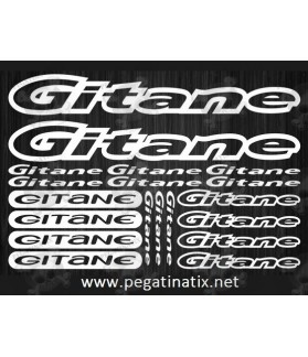 Stickers decals cycle GITANE
