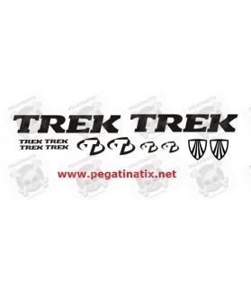 Stickers decals cycle TREK