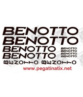 Stickers decals cycle BENOTTO