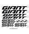 Stickers decals bike GIANT UNIVERSAL