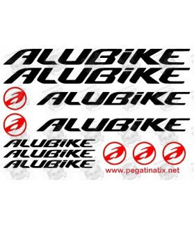 Stickers decals cycle ALUBIKE