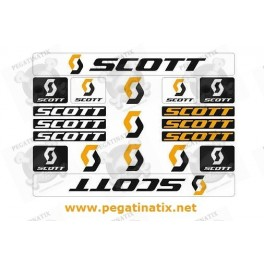 Sticker decal bike SCOTT