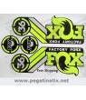 Sticker decal FORK FOX FACTORY 36