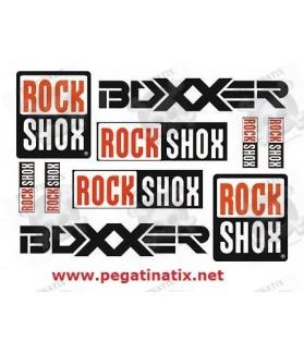 Stickers decals ROCK SHOX BOXXER