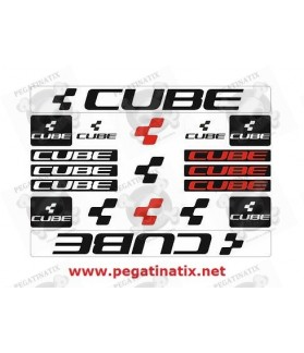 Sticker decal bike set CUBE UNIVERSAL