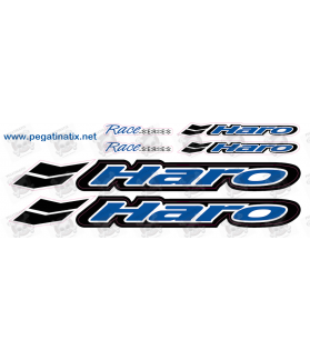 Sticker decal aufkleber adesivi bike set HARO