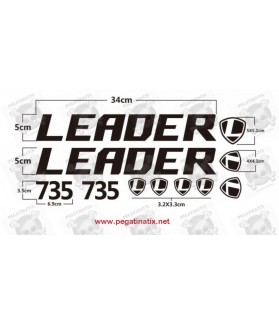 Stickers decals cycle LEADER