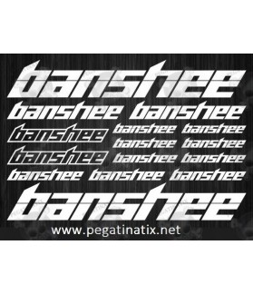 Stickers decals cycle BANSHEE